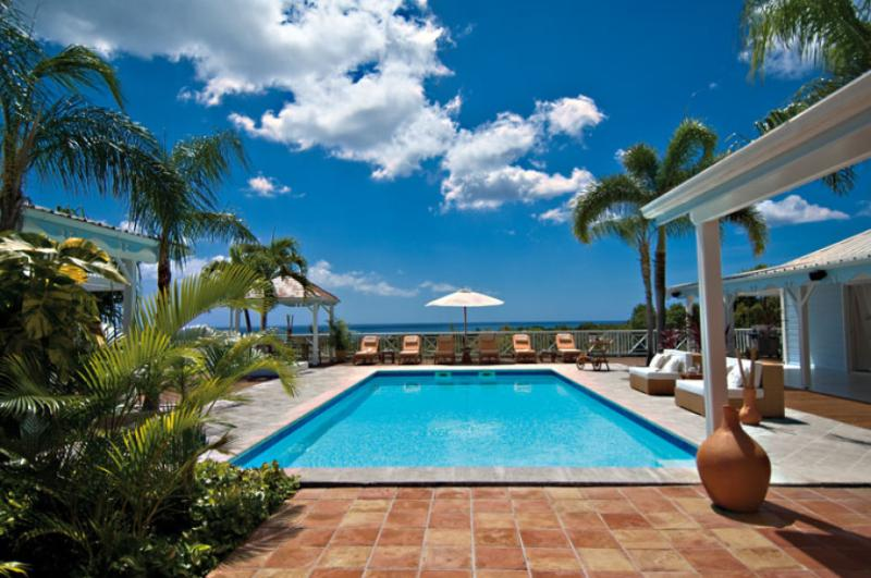 Jacaranda...Terress Basses, St. Martin - JACARANDA ...  affordable family villa with georgous views of Baie Longe! - Terres Basses - rentals