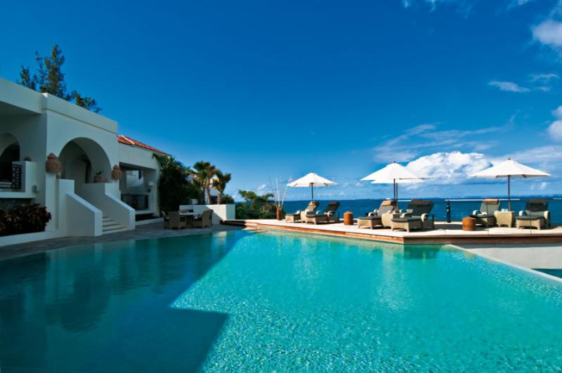 L'Oasis at Baie Rouge, Saint Maarten - Beachfront, 2 Pools & Jacuzzi, Chef - Image 1 - Terres Basses - rentals