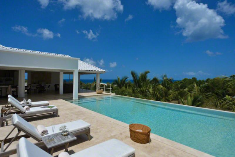 Bamboo at Terres Basses, Saint Maarten - Ocean View, Pool, Modern Decor - Image 1 - Terres Basses - rentals