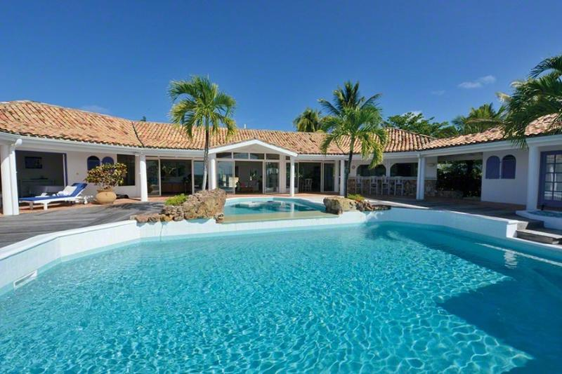 Belle Fontaine at Terres Basses, Saint Maarten - Ocean View, Large Pool, Short Drive To Beach - Image 1 - Terres Basses - rentals