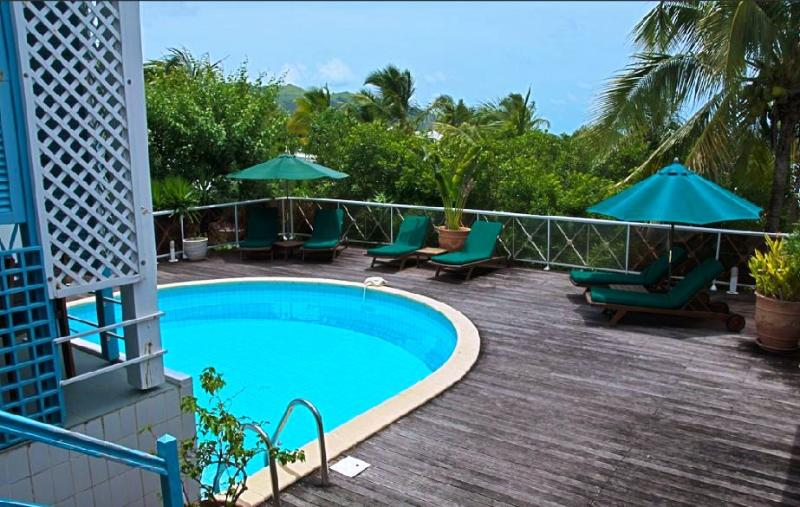 LA MAZET at Green Cay...affordable villa with private pool, walk to beach - Image 1 - Orient Bay - rentals
