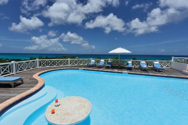 St. Martin Villa 85 From Any Vantage Point Along The Lengthy Sea-facing Deck You Feel Like You're On Top Of The World. - Image 1 - Terres Basses - rentals