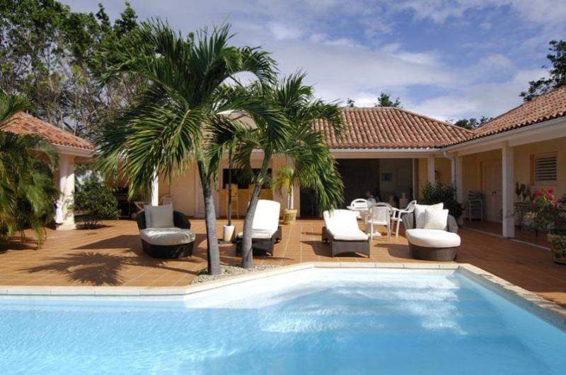 Villa La Nina, Terres Basses, St Martin 2BR; - LA NINA... includes Tennis Court & Gym for 2 lucky couples or small family - Terres Basses - rentals