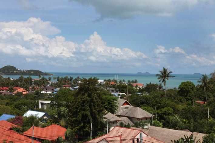 View to the sea - Koh Samui modern and stylish seaview apartment - Bophut - rentals