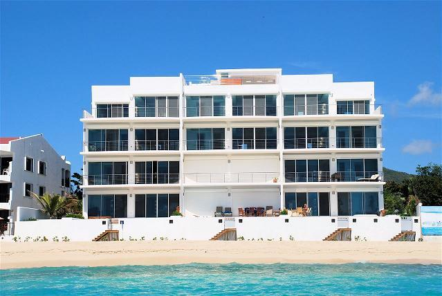 Aqualina, Simpson Bay - AQUALINA 401... Wow!  fabulous penthouse on gorgeous beach, amazing views - Simpson Bay - rentals