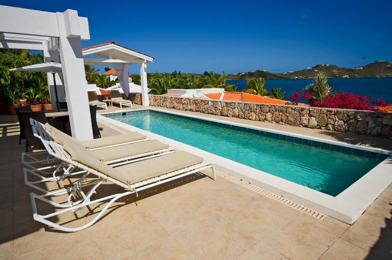 Dolce Dolce Casa....Point Pirouette, Dutch St Maarten  800-480-8555 - DOLCE DOLCE CASA...breathtaking panoramic views of Simpson Bay Lagoon - Saint Martin-Sint Maarten - rentals