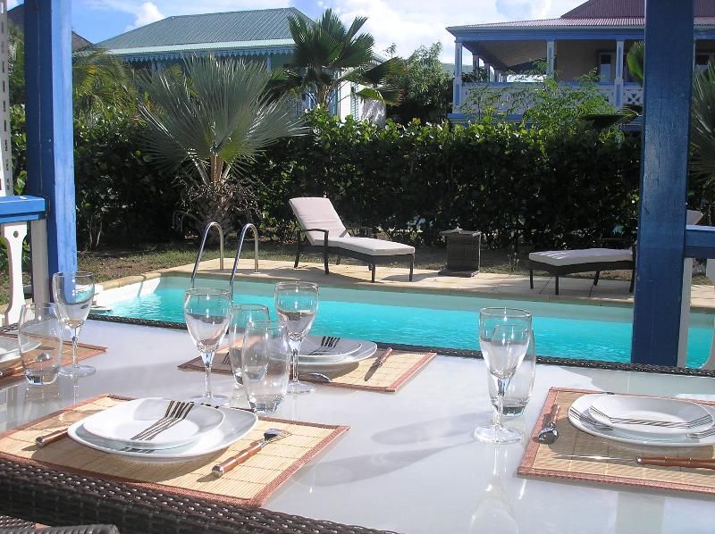 Maryline, Orient Bay, St Martin, 2BR townhouse with private pool - MARYLINE...Adorable 2 bedroom townhome w/ private pool and short walk to beach! - Orient Bay - rentals