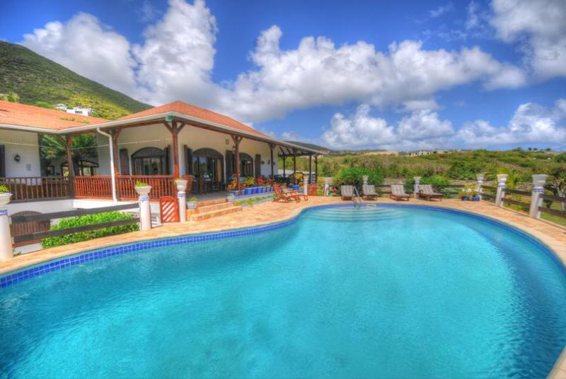 Mahogany at Guana Bay, Saint Maarten - Ocean View, Pool, Short Walk To The Beach - Image 1 - Guana Bay - rentals