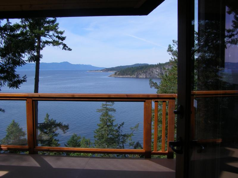 Blue Orca Cottage; what a view! - Blue Orca Cottage - Garden Bay - rentals