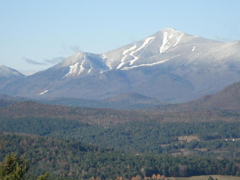 Views of Whiteface Skiing from Star Ridge - Star Ridge Cottage -On 30 Private Acres - sleeps 4 - Lake Placid - rentals