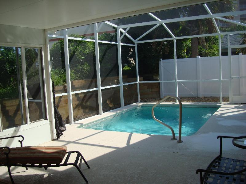 Sand Dollar Pool House - Just Steps to the Beach! - Image 1 - New Smyrna Beach - rentals