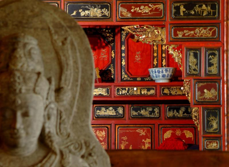 Antique Chinese Relaxation Bed  in the Living Area - Private Villa offers the True Balinese Experience - Ubud - rentals
