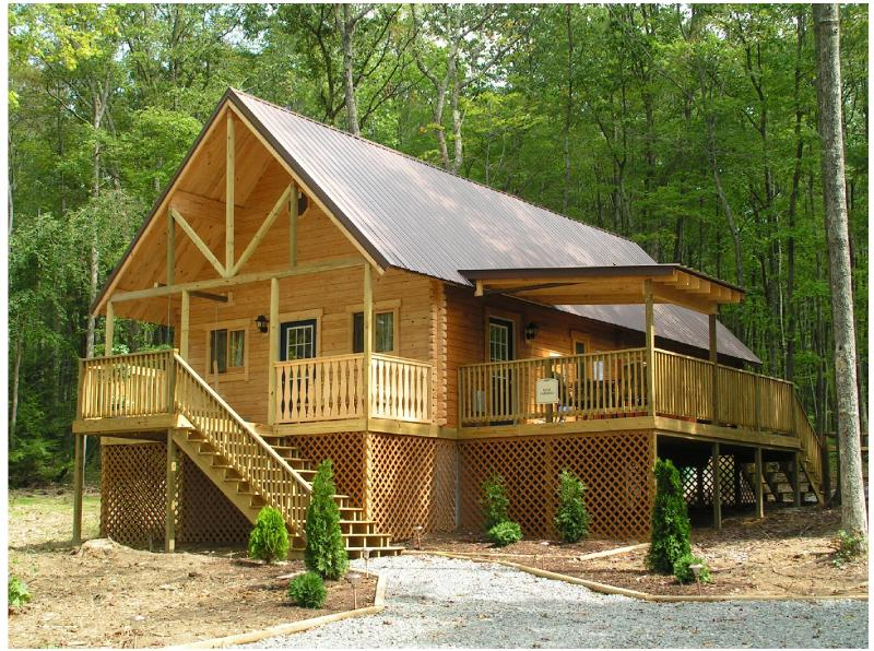 Luxury Cabin on 3 private acres - Luxury Cabin with outdoor hot tub nestled in WV - Hico - rentals