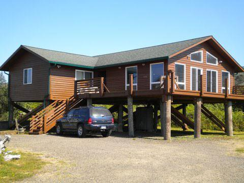 Ocean front home - Lands End - Cape Meares - rentals