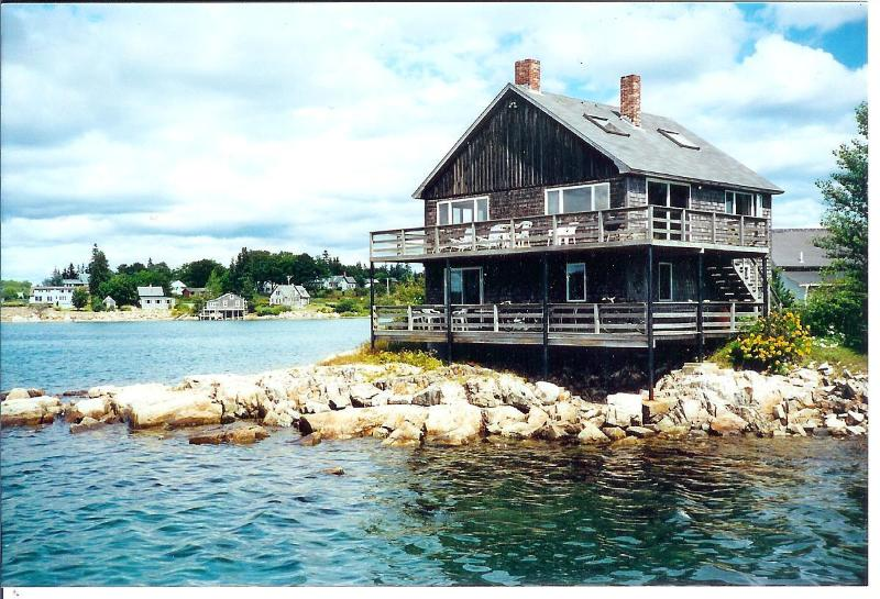 Little Island House, with Upstairs & Downstairs apts.,  each with private entrance and private deck. - Little Island House - Bass Harbor - rentals