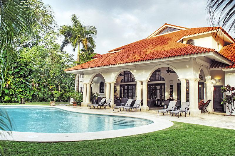Sea Horse Ranch Cabarete Dominican Republic Caribbean Villa Diana pool ocean front luxury - Great Caribbean  Villa - Cabarete - rentals