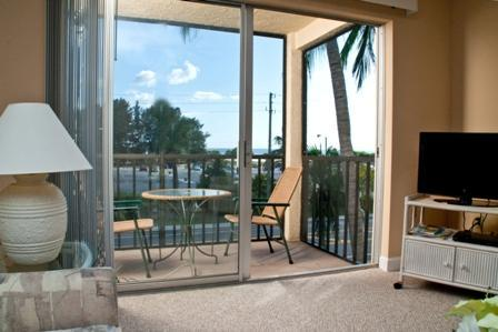 View of Siesta Beach and Gulf from Lanai - Enjoy Siesta Key Beach with a Gulf View! - Sarasota - rentals
