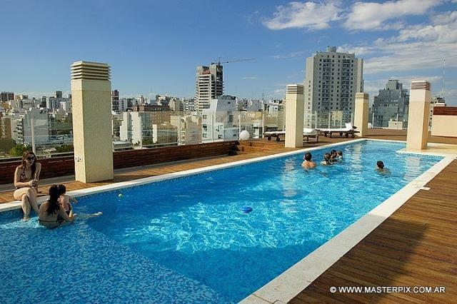 heated rooftop pools 360º views open till midnight - *Lux. 2 bed, 2,5 bath Palermo Live Hotel 5*amenit* - Buenos Aires - rentals
