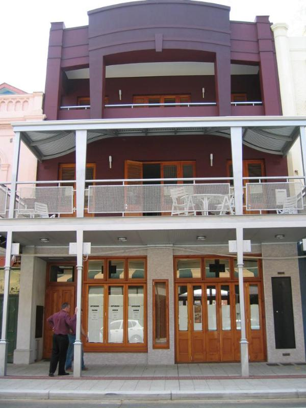 Rialto as seen from High Street - RIALTO APARTMENTS - Award winning accommodation - Fremantle - rentals