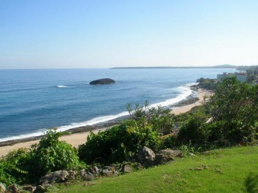 From Terrace looking East - Mar Chiquita Beach Garden Apartment - Puerto Rico - rentals