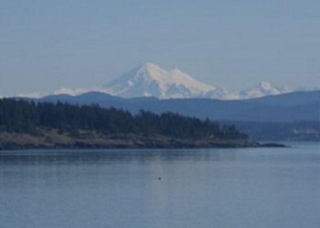 View from the waterfront side of the home. - Alba Vista - Friday Harbor - rentals