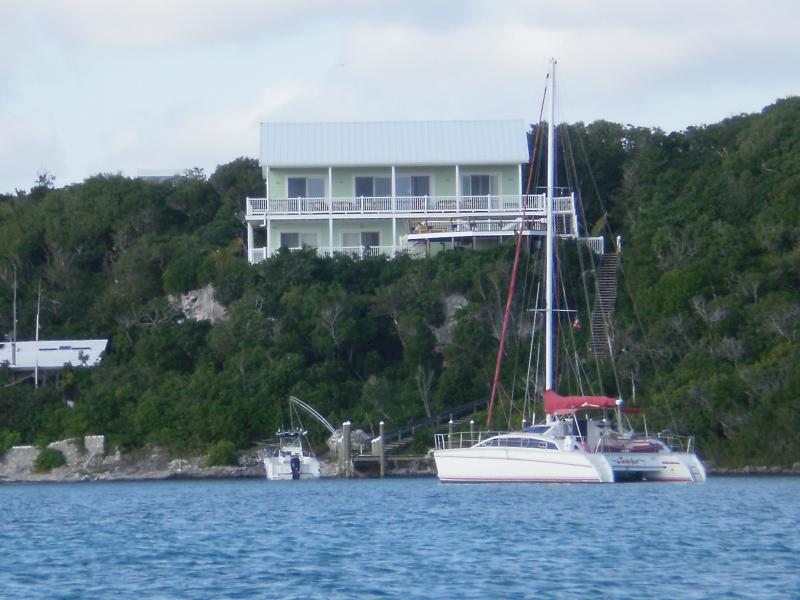 Cliff House seen fro Sea of Abaco - Cliff House, Bahamas: Exceptional View! - Hope Town - rentals