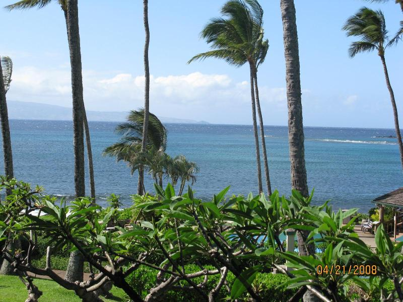 View from Lani - Napili Shores H263,1 bd, Ocean View, Napili Shores - Napili-Honokowai - rentals