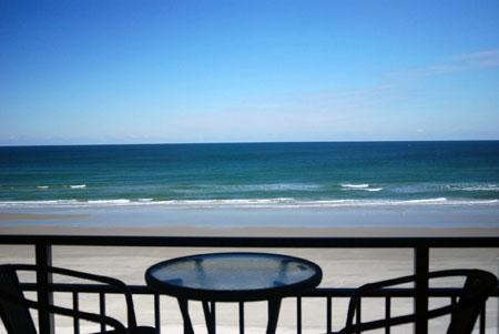Hawaiian Inn Resort - Balcony - Hawaiian Inn Oceanfront - Summer  $550/week !! - Daytona Beach - rentals