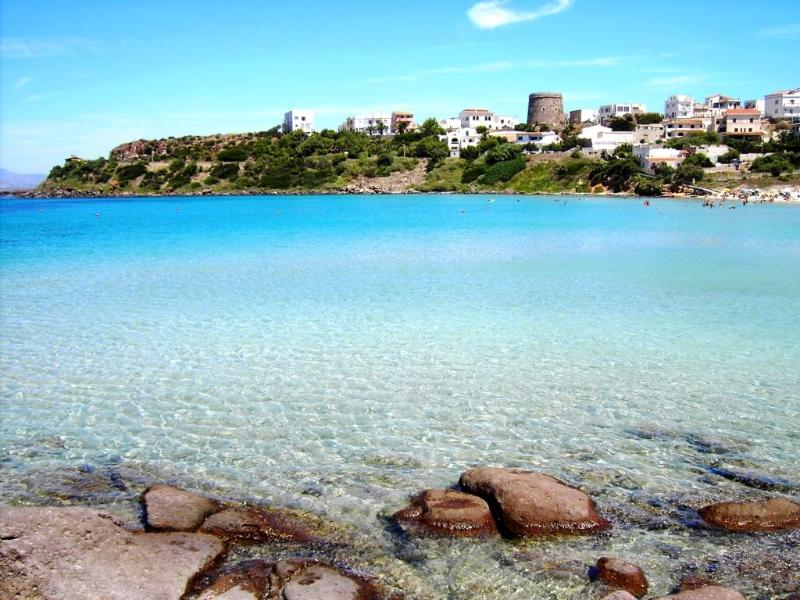 The view from the beach (less than 100m from the apts./studios) - A stone's throw from the beach - Calasetta - rentals