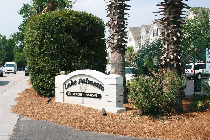 Entrance into community - Carolina Waterfront Rentals - In Great location - North Charleston - rentals