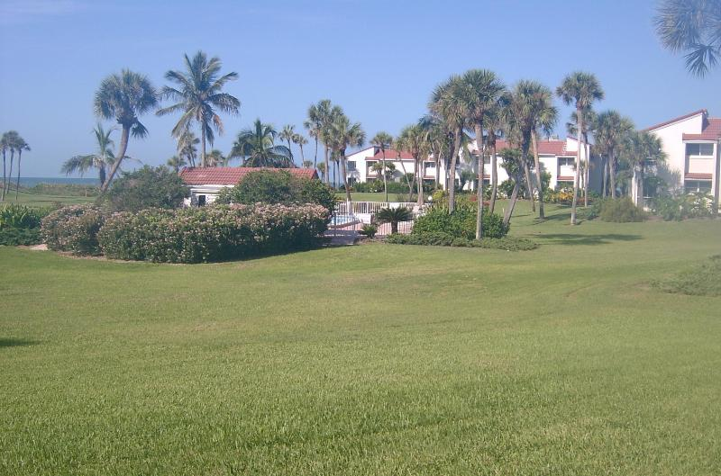 View from our condo - 1st Floor Home Away from Home- Steps to Beach/Pool - Longboat Key - rentals