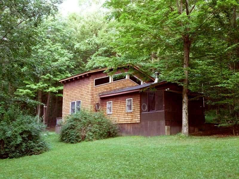 Eight private forested acres provides seclusion - Heart of PA Wilds - secluded 3 BR mountain cabin - Penfield - rentals