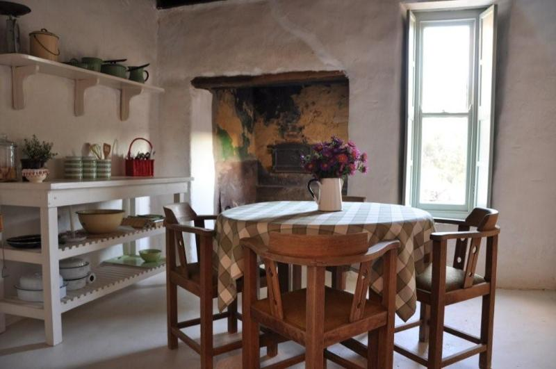 Kitchen with fire place - Witklip Guest Farm - Western Cape - rentals