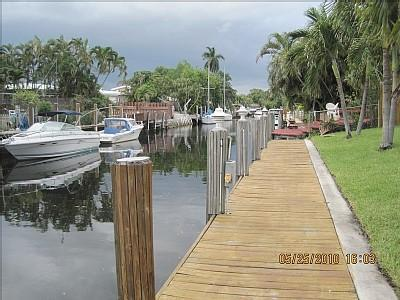 A Look down the Dock - Fresh & Clean Waterfront with private pool - Fort Lauderdale - rentals