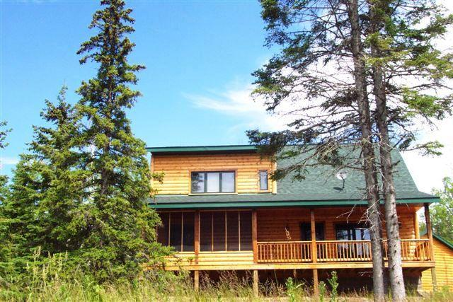 Set in the woods with a view of Lake Superior from the covered deck & every room that faces the lake - Lutsen's cutest rental - Lake and Mountain views! - Lutsen - rentals