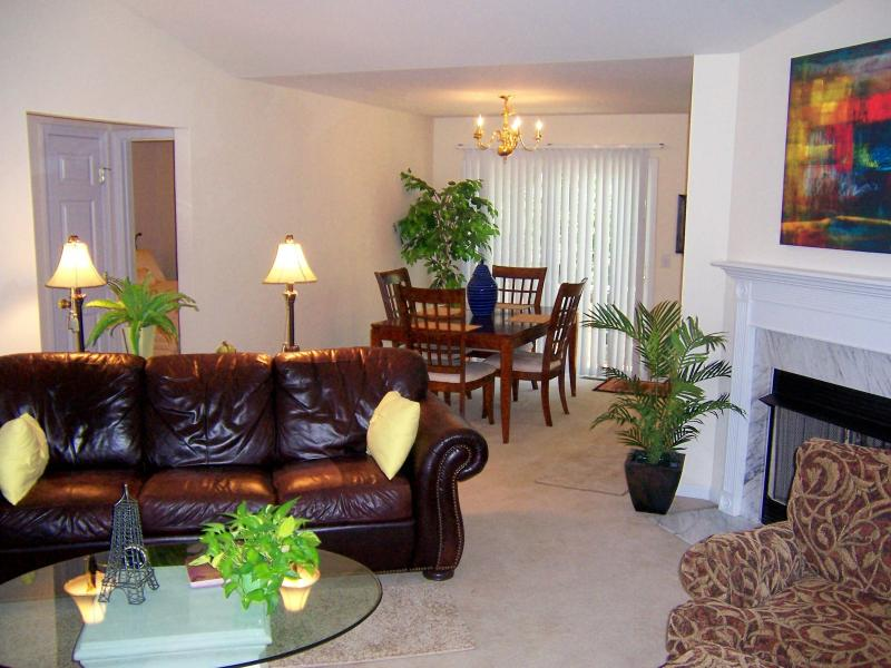 Lovely open family area, vaulted ceilings, comfortable - LOVELY HOME...near Country Music City! - Hendersonville - rentals