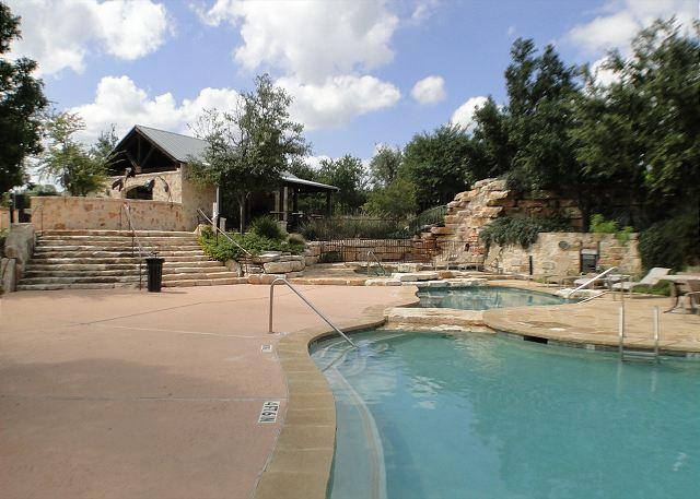 "Enjoy the Resort Style Amenities at The Hollows on Lake Travis - ""Stay-cation"" in this lovely Hollows Condo w/ Top of the line Amenities - Jonestown - rentals"