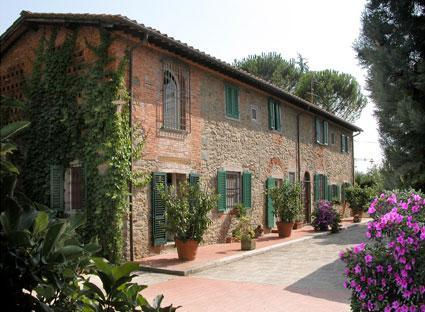 facade of the main house - Lovely Self-Catering midway Florence and Lucca - Lucca - rentals