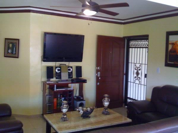 Living Room - Beautiful Ocean WaterFront Apartment For Vacations - Santo Domingo - rentals
