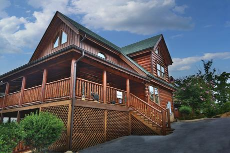 Exterior - Celebration Lodge Four Bedroom Cabin in Pigeon Forge - Sevierville - rentals