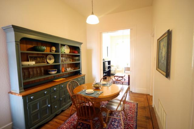 Dining area - Hayes Valley - Page St - San Francisco - rentals