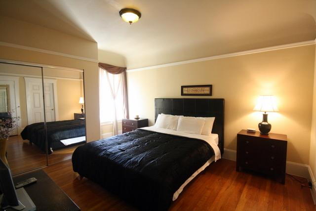 Master bedroom - Comfortable Marina District - San Francisco - rentals