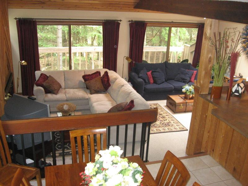 looking into the main living area - Harbor Springs, Large 3 Bedroom Condo, Harbor Cove - Harbor Springs - rentals