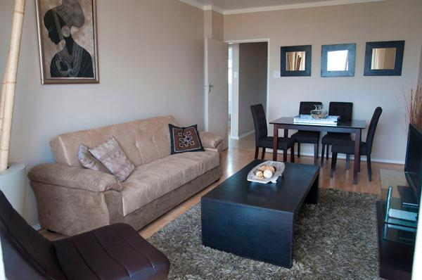 Lounge - 503 Cascades - Self Catering Apartment Cape Town - Cape Town - rentals