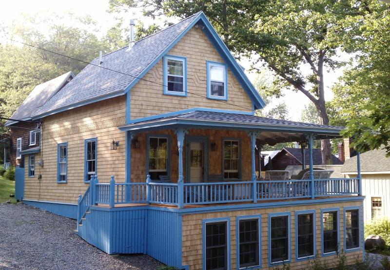 Front of Cottage - Shearwater Cottage, Northport Maine (in Bayside) - Northport - rentals