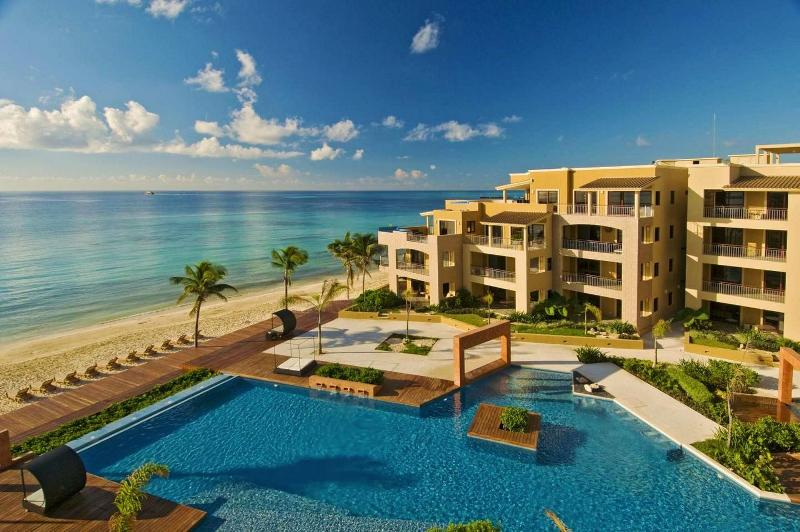 El Faro in Playa del Carmen, Mexico - 3 BR Luxury Beachfront Condo! - Playa del Carmen - rentals