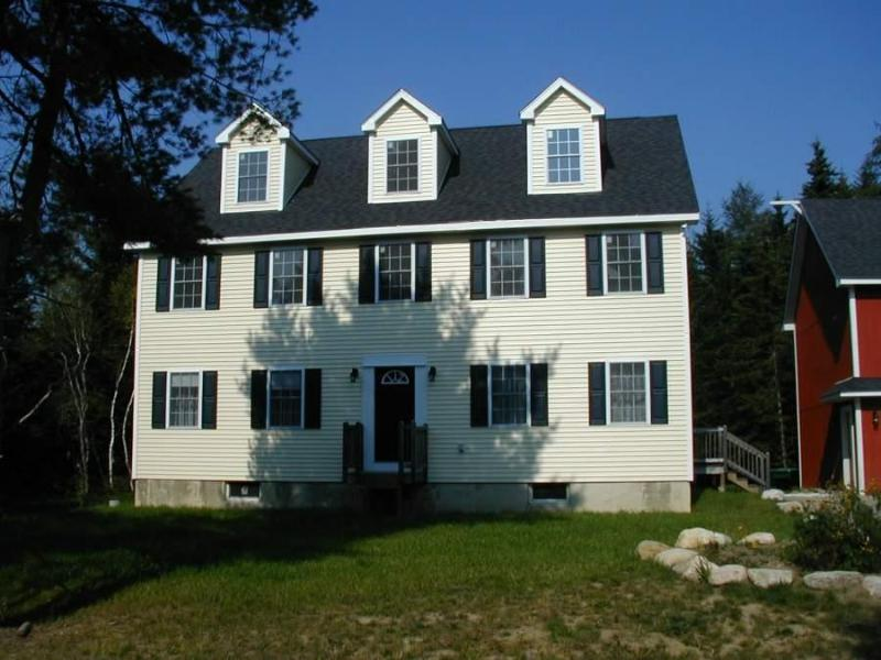 Front of Home - Large Cape in Quiet, wooded setting near AcadiaNP - Mount Desert - rentals