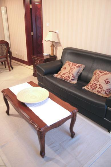 Sofa - 1BD 1BTH Beijing CBD Western Managed Serviced Apartments #1 - Beijing - rentals