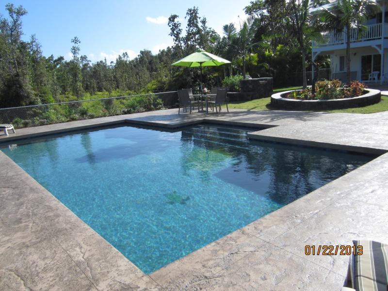 Brand new 15 x 30 pool! - Custom Home w\POOL 1000 feet from the ocean! - Keaau - rentals