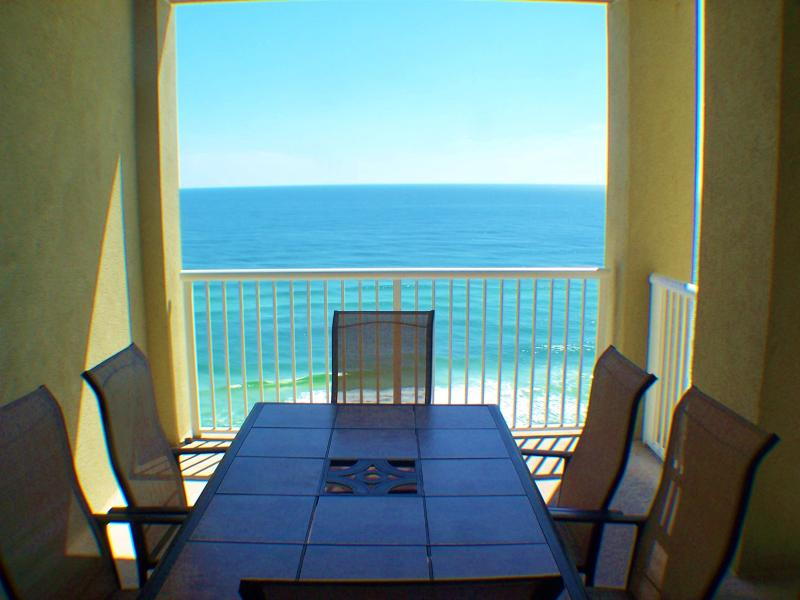 view from inside King suite - Beach Frnt Luxury, Spacious,Views,New Decor, Class - Panama City Beach - rentals